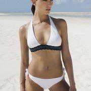 betty perline bianco bikini bikiamani